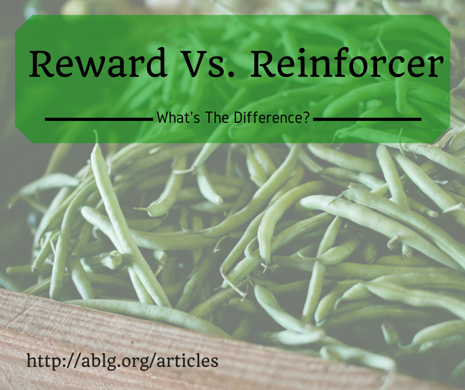 Are green beans reinforcers?