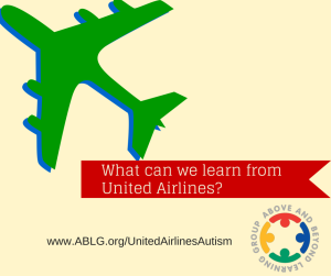 United Airlines|Autism