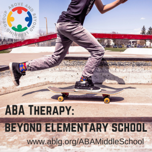 ABA Therapy Beyond elementary school