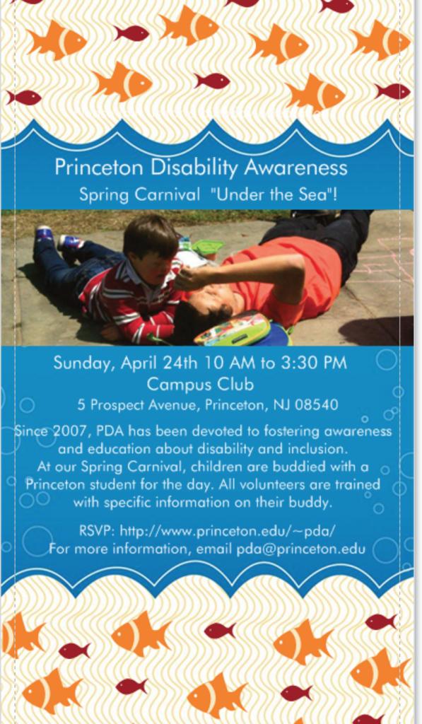 Princeton Disability Awareness Carnival
